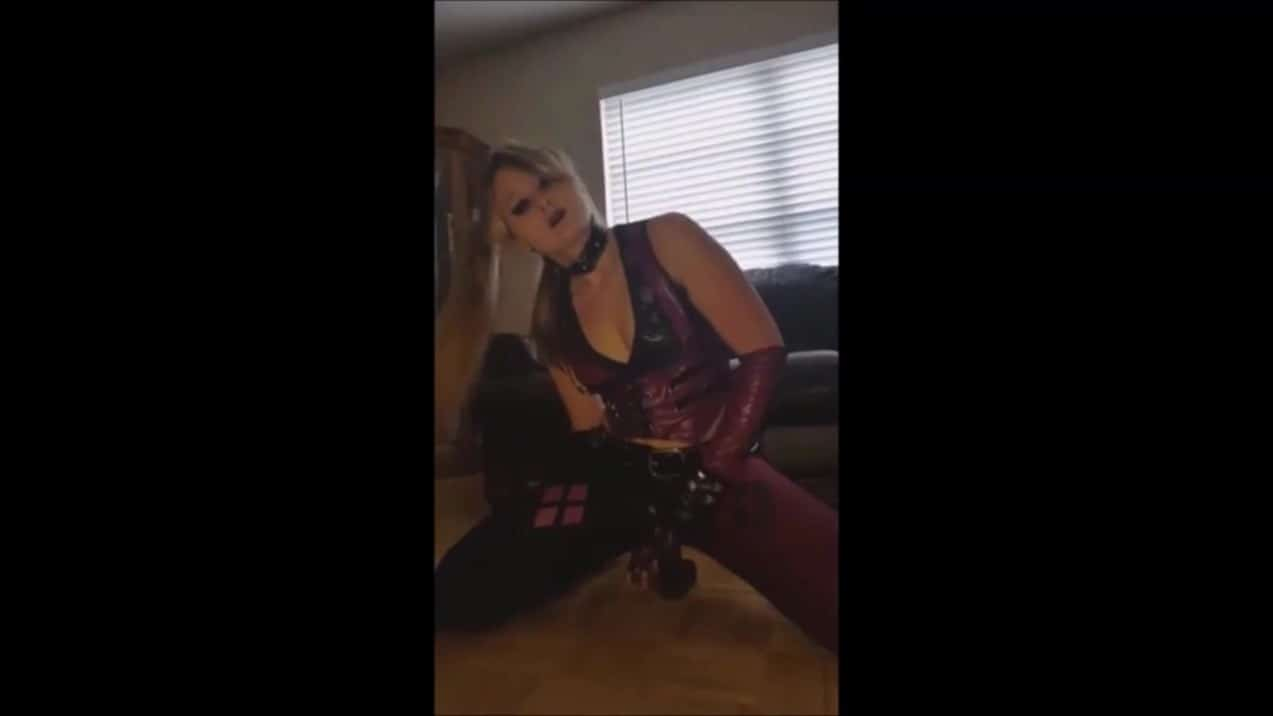 Whitney Wisconsin in Harley Quinn Video